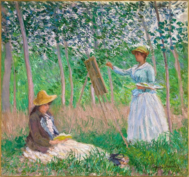monet's painting in giverny france