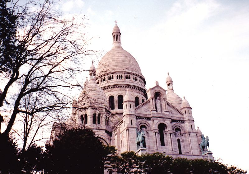 Sacré coeur and Montmartre