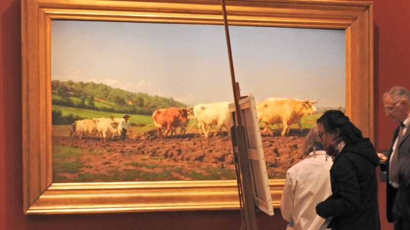painting in orsay museum