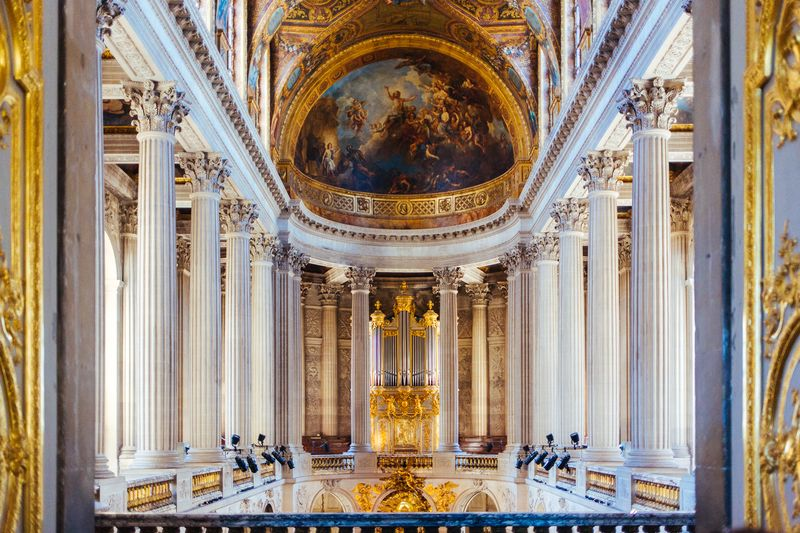 inside the palace of versailles france