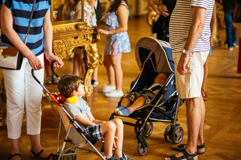 guided tour especially designed for children in versailles france