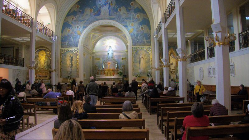 Our Lady of Miraculous Medal chapel inside