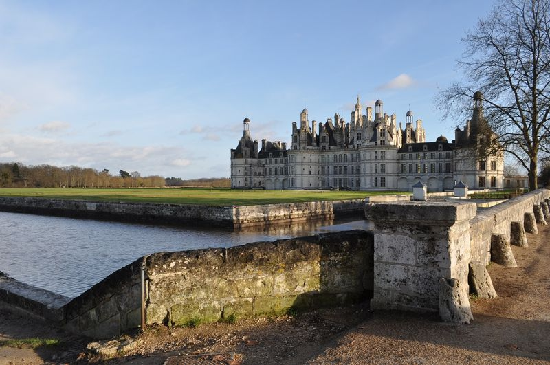 beauty and magnificence of chambord castle