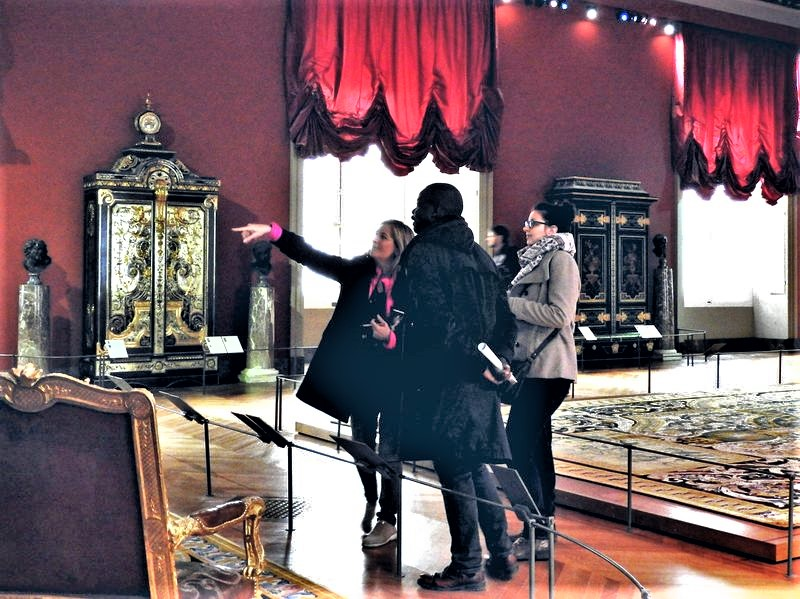 louvre france luxurious king's apartments guided tour