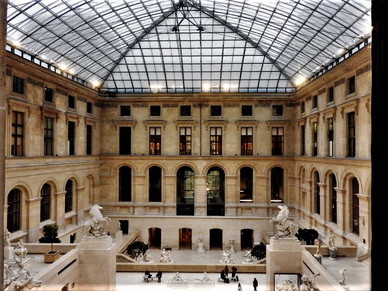 Louvre Luxurious King's apartments guided tour