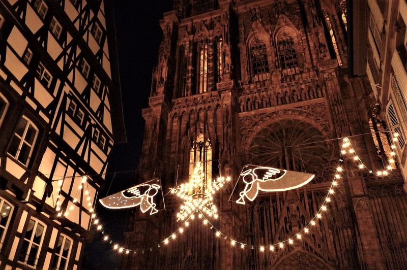 see christmas decoration on our strasbourg christmas market tour