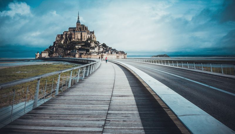 way to go to mont saint michel france