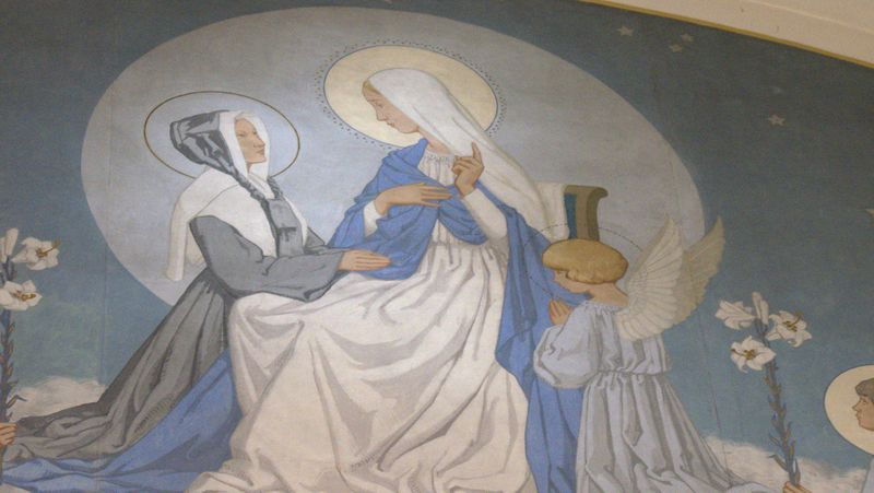 saint catherine labouré on the apparitions of the miraculous medal