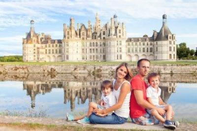 chambord castle tour family