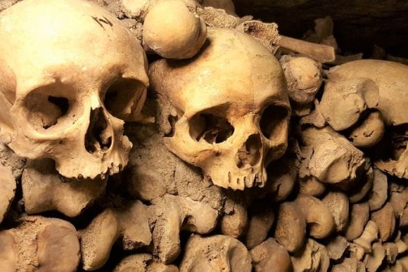 paris catacombs