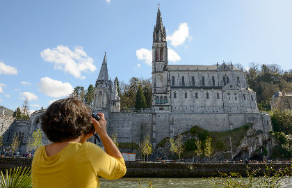 Lourdes in France