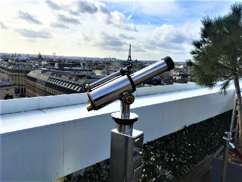observatory point on rooftop paris