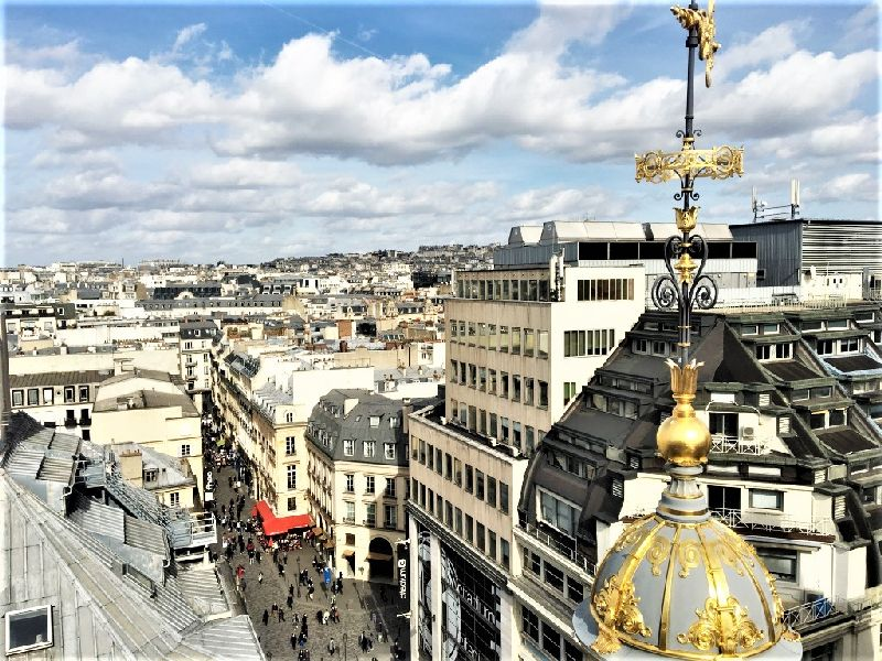 guided tour on rooftop paris bars