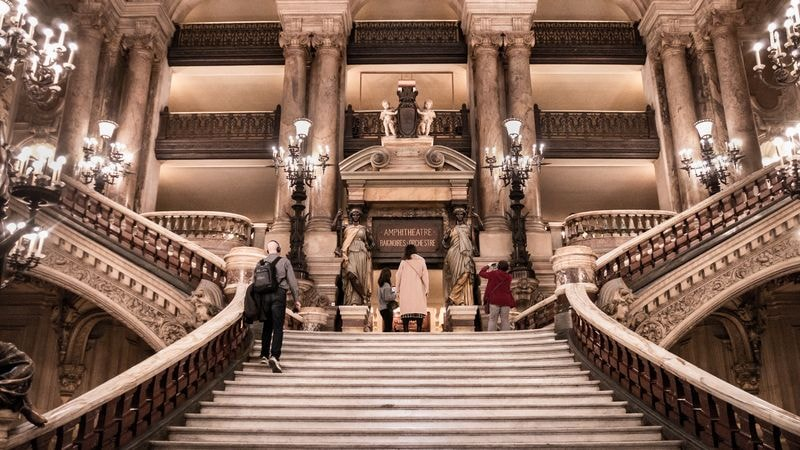 paris opera house grand stairway