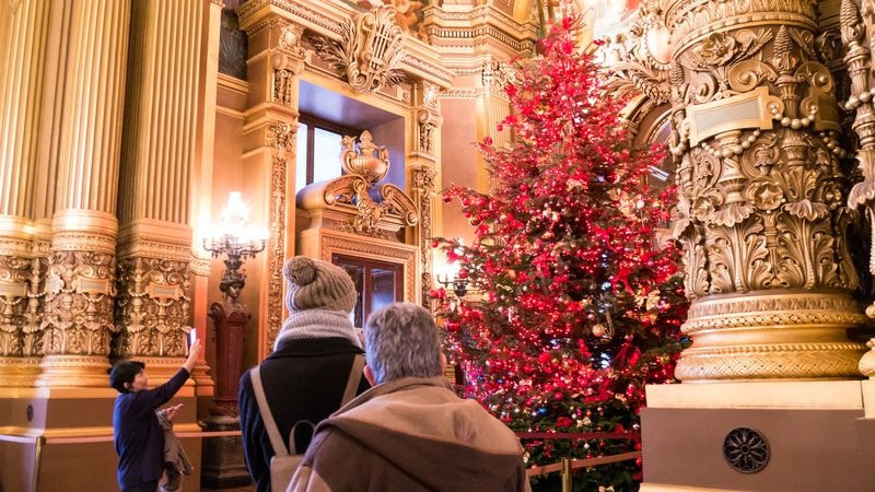 christmas at paris opera house