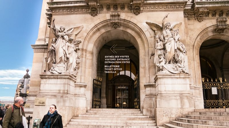 paris opera house entrance