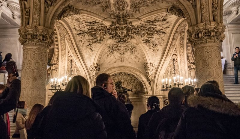 guided tour in paris opera house