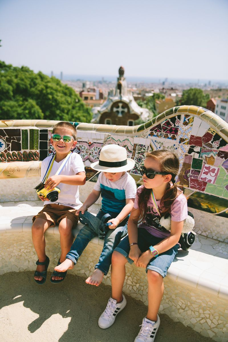 our park guell barcelona tour especially for children