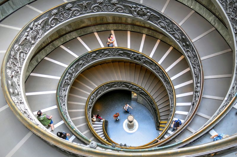 see bramante staircase with our vatican museums guided tour