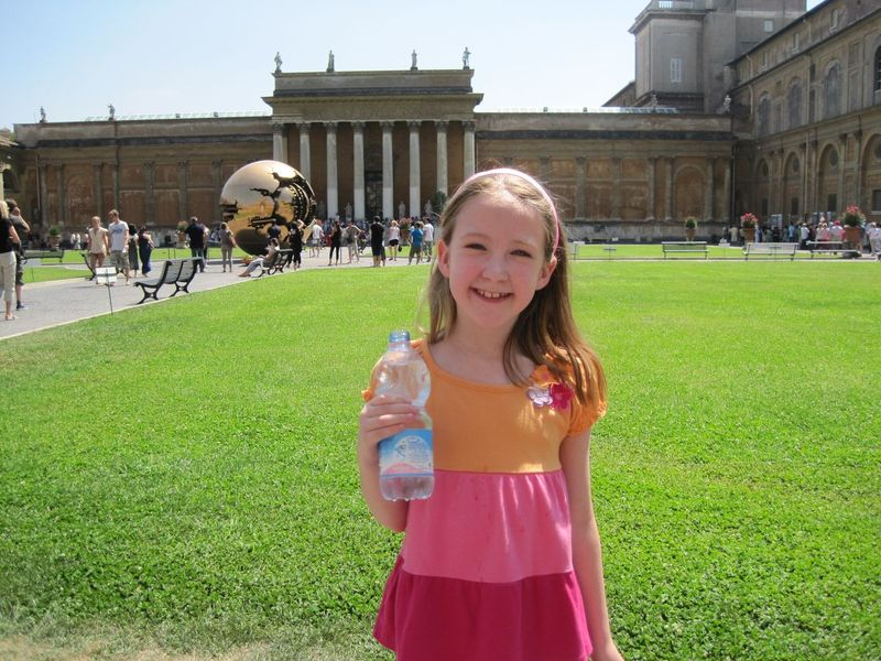 kids on our vatican museums and sistine chapel guided tour