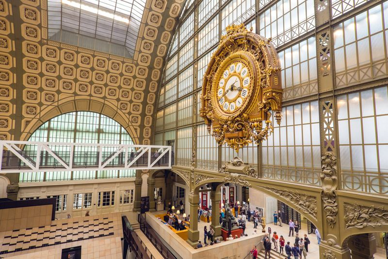 central hall of orsay museum