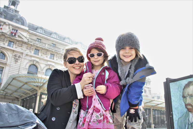 kids at orsay museum