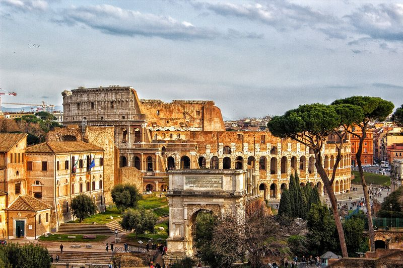 colosseum rome and roman forum tour