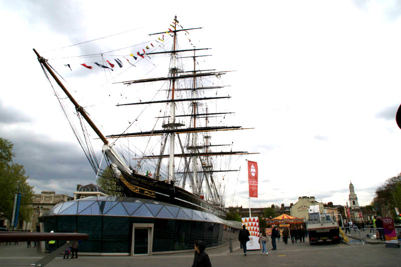 climb aboard the cutty sark in greenwich