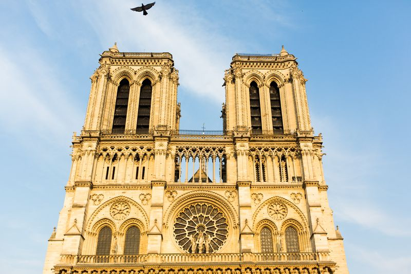 towers of notre dame cathedral
