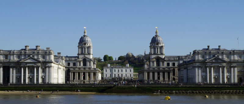 antigua universidad naval real en Greenwich