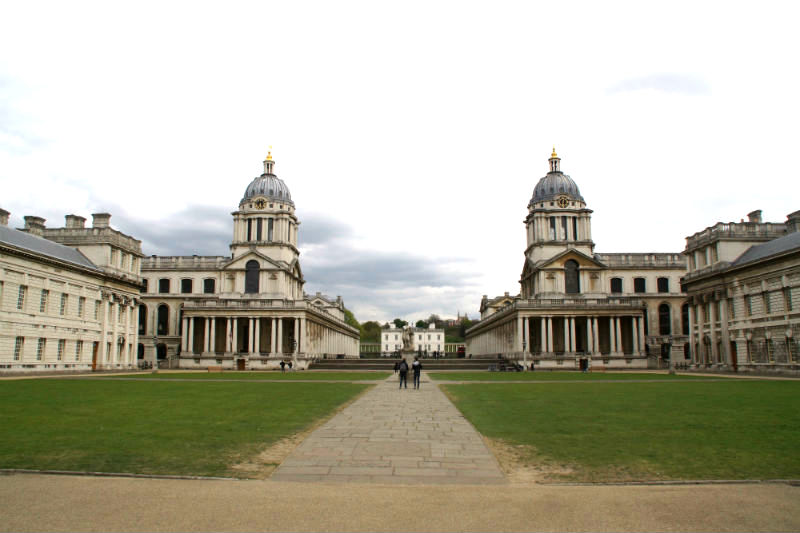 architectural centrepiece of maritime greenwich