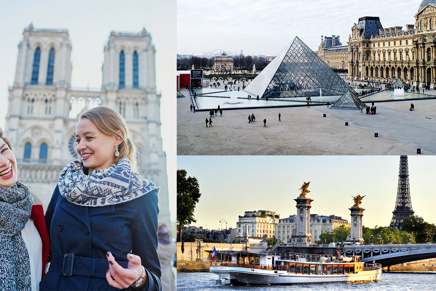 combo notre dame cruise louvre tickets