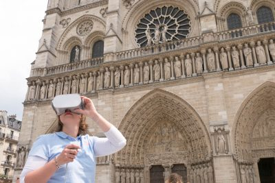 notre dame de paris virtual reality