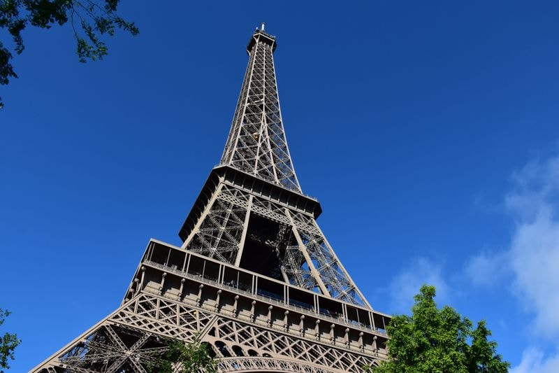 visit paris in one day starting with the eiffel tower