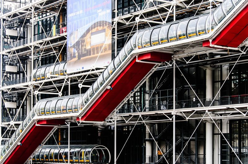 What to do in Paris Georges Pompidou Center Building