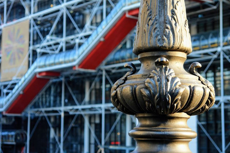 What to do in Paris Outside Georges Pompidou