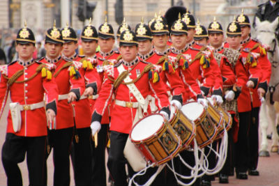 changing guards march
