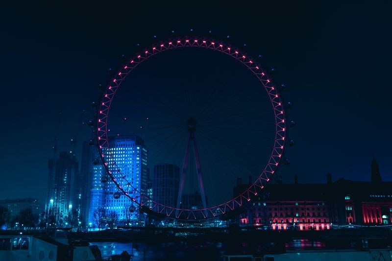 London Eye by night