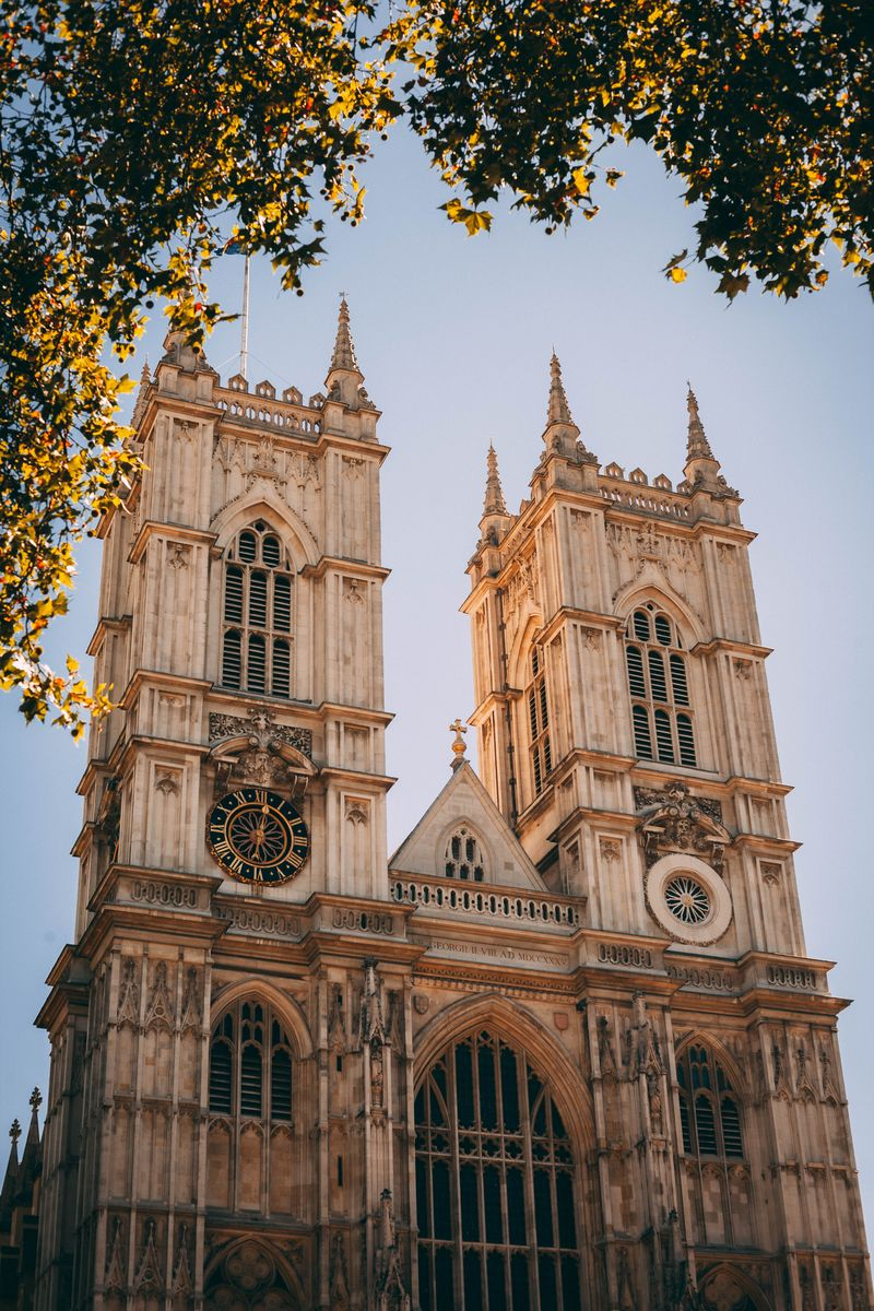 Front of Westminster Abbey