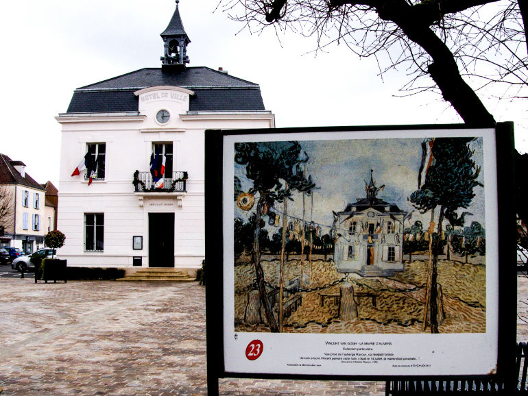 Van Gogh Village Family Tour Auvers Town Hall